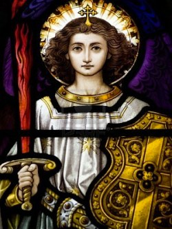 2827751-stained-glass-in-catholic-church-in-dublin-showing-archangel-michael-the-stained-glass-windows-are-b