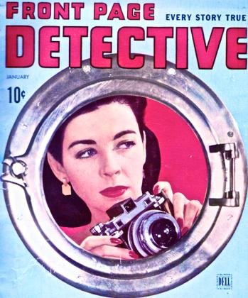1940s FRONT PAGE DETECTIVE Vintage Crime Magazine