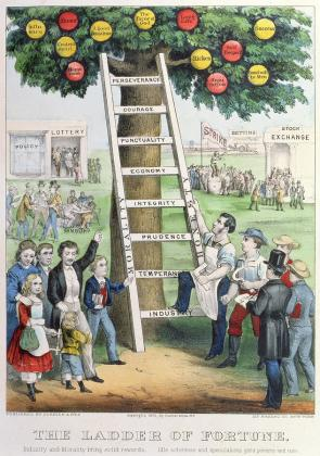 1-the-ladder-of-fortune-currier-and-ives