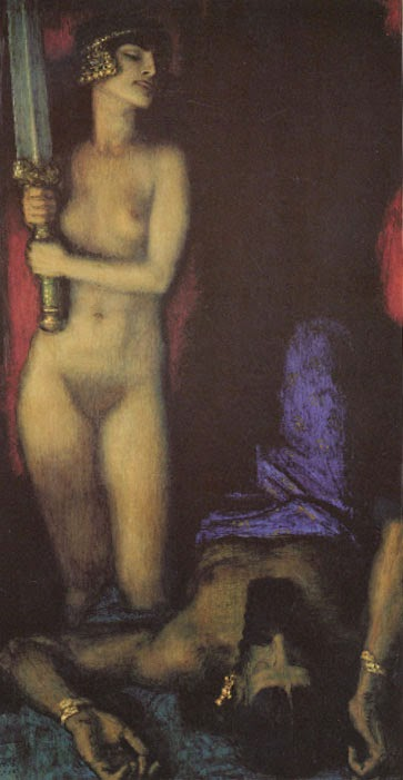 FranzVonStuck-Judith-and-Holofernes-II-c1927