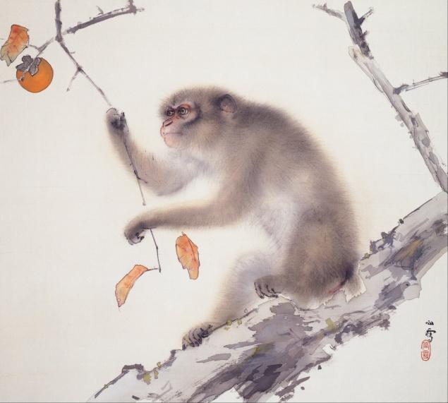 Hashimoto_Kansetsu_-_Monkey_-_Google_Art_Project
